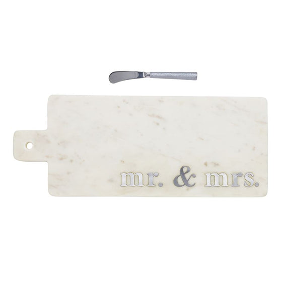 Marble Mr. & Mrs. Board Set
