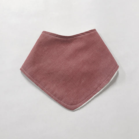 Buddha Bib -  Strawberry Chambray