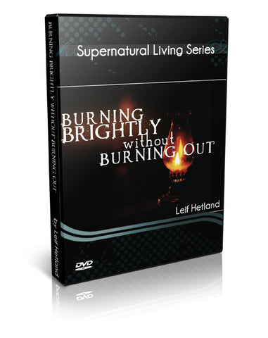 Burning Brightly without Burning Out DVD