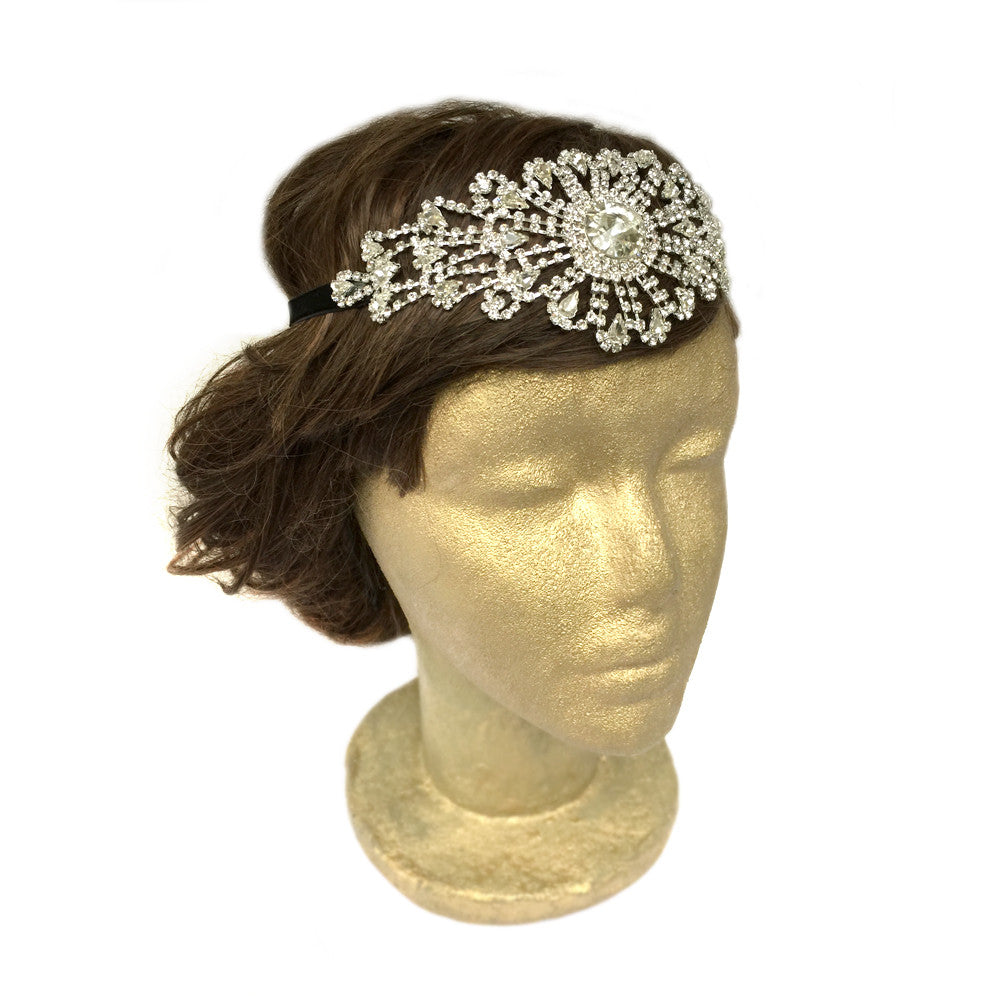 Yellow hair accessories for wedding - Bridal Hair Accessories Rhinestone Headbands Wedding Hair