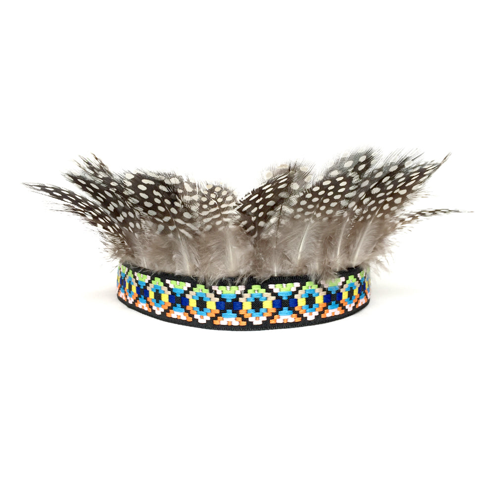 Feather Crown, Feather Headband, Birthday Party Crown, Adult Teen Baby Toddler Shower