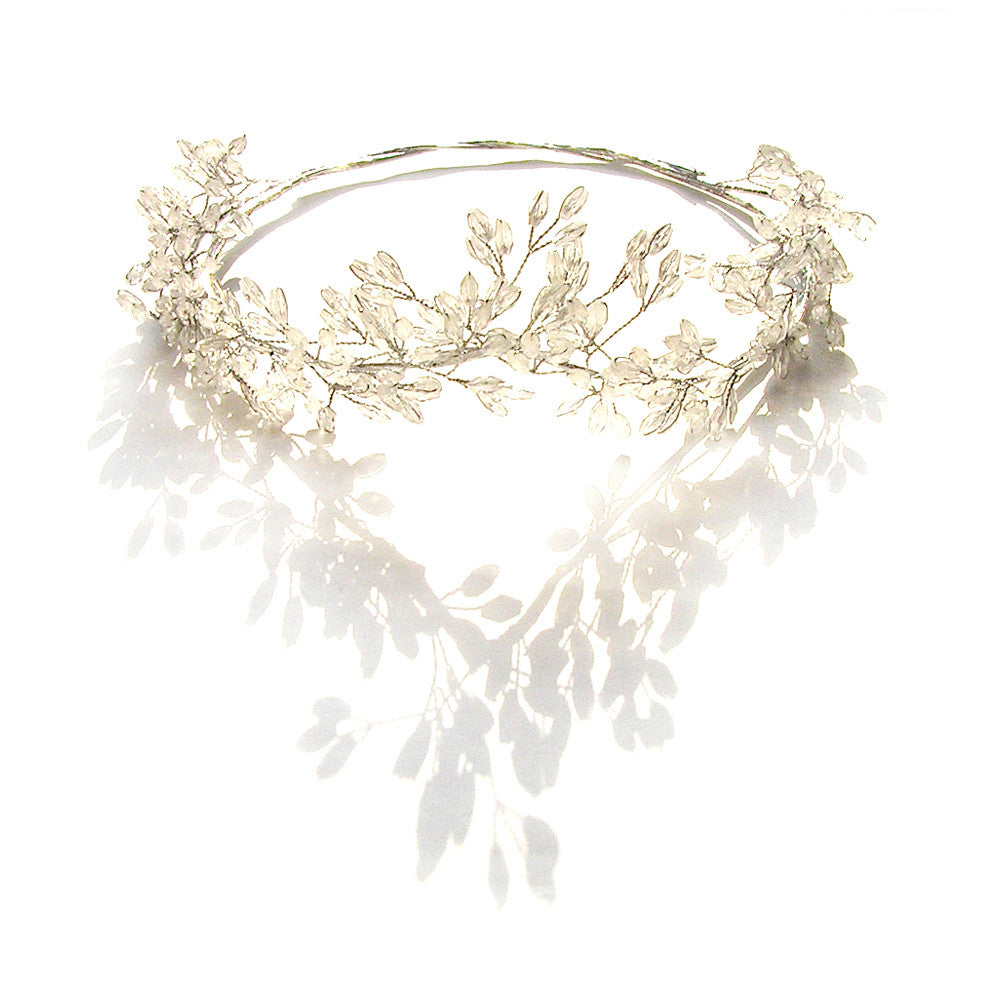 Hair Vine Wedding, Bridal Hair Vine, Grecian Crown, Bridal Tiara