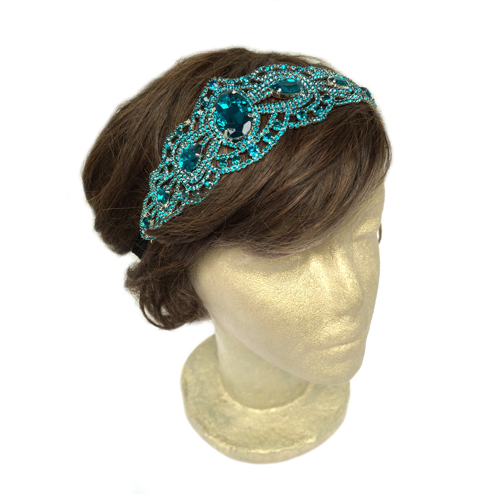 Mermaid Hair Accessories, Beach Wedding Hair Piece, Turquoise Hair Accessory