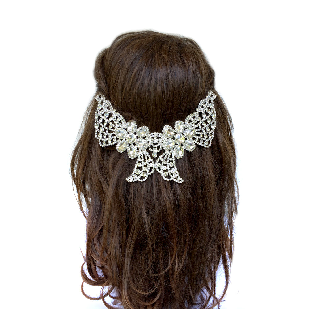 Wedding Hair Comb, Beauty and the Beast Wedding Party, Gold Bridal Hair Comb
