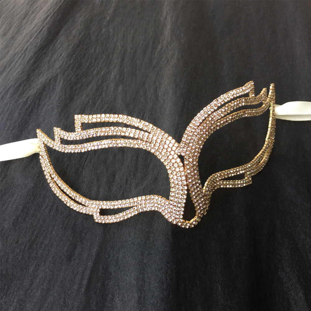 Catwoman Mask, Masquerade Costumes Female, Gold Masquerade Mask