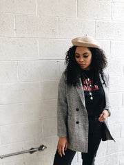 Aurora Plaid Blazer