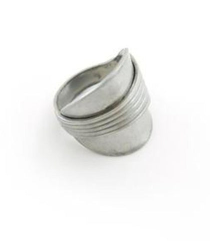 Elegant Minimalist Upcycled Ring