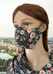 Renaissance Rose: 3-Layer Mask with FREE SHIPPING