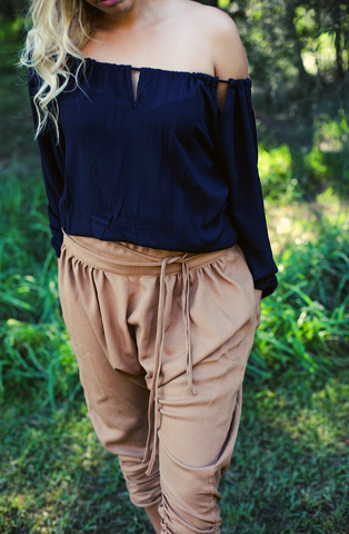 Slouch Pant Camel