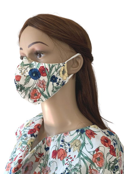 Croatian Meadow: 3-Layer Mask with FREE SHIPPING