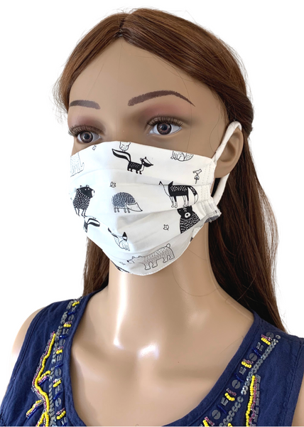 Cute Creatures: 3-Layer Mask with FREE SHIPPING
