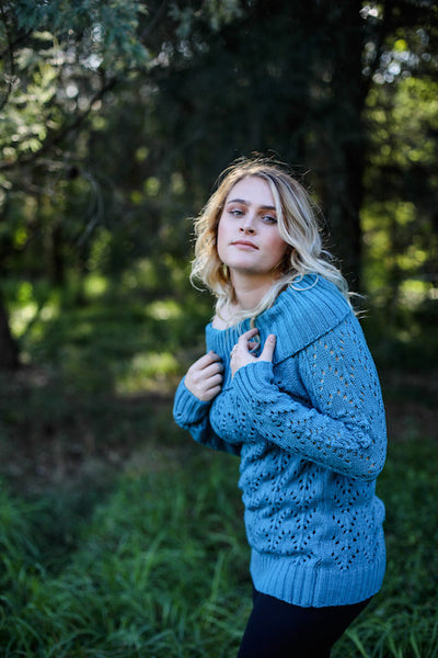 Adelle Knit Teal