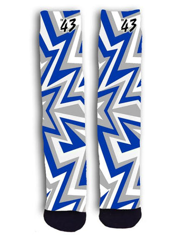 Blue and Grey Zig Zag (UK Colors)