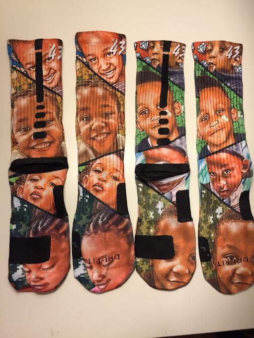 We now offer custom elite socks!
