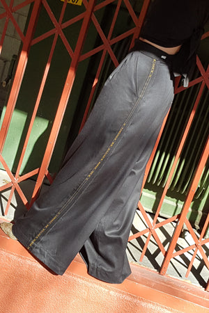 FLAQUE PANTS - VINTAGE WOOL
