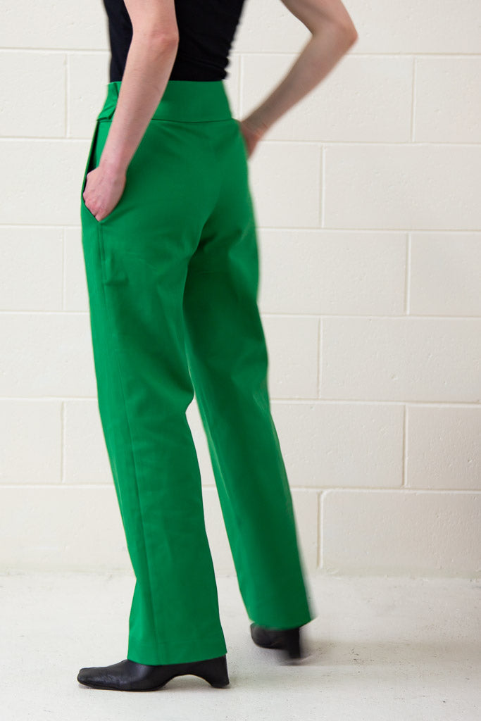 Beatrix Trousers - Sprout