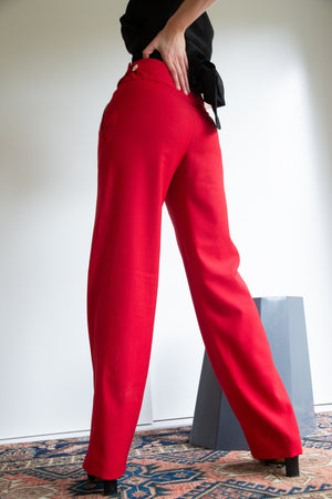 Beatrix Trousers - Scarlett Wool