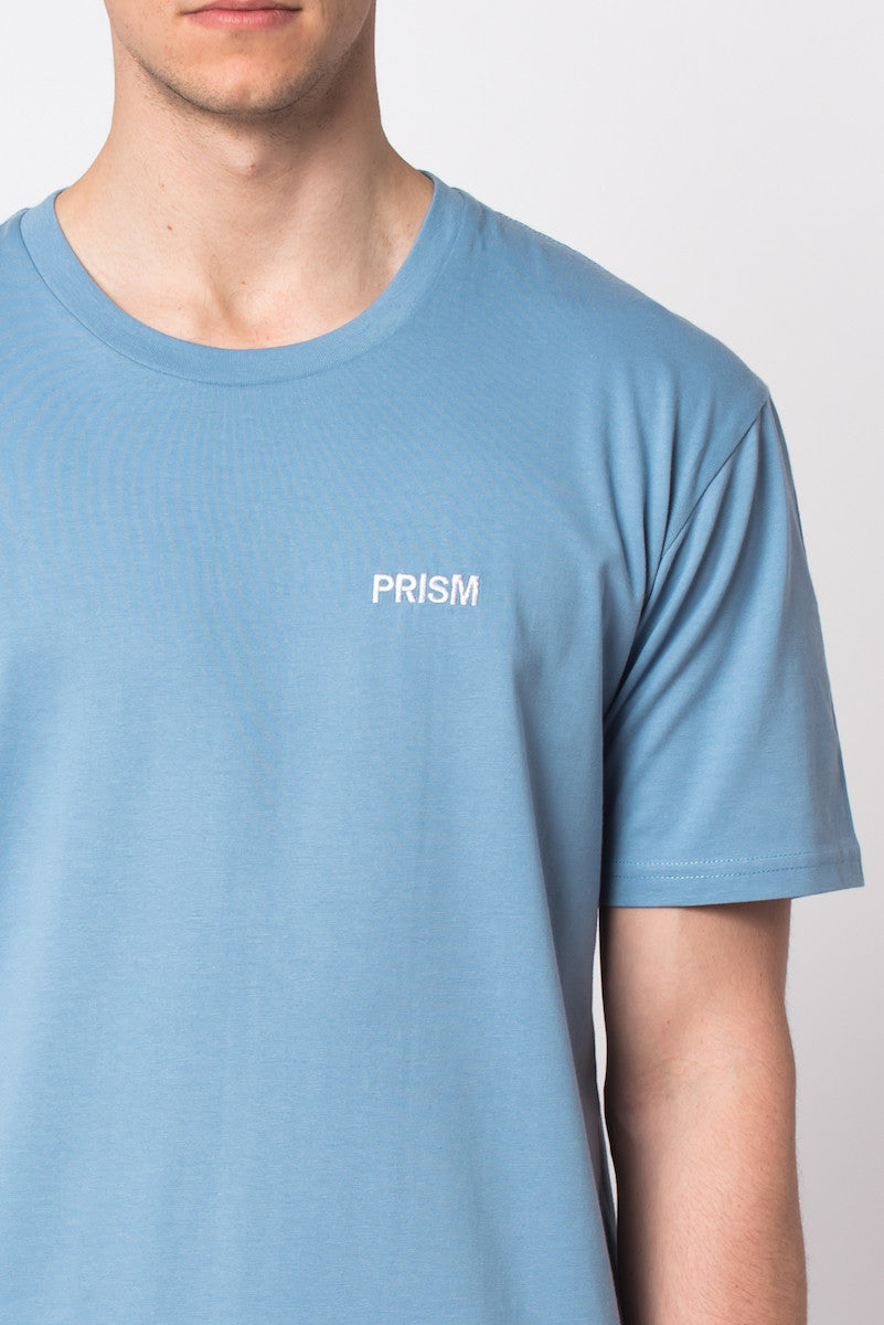 Prism Stitch Tee - BLUE - Prism Collective