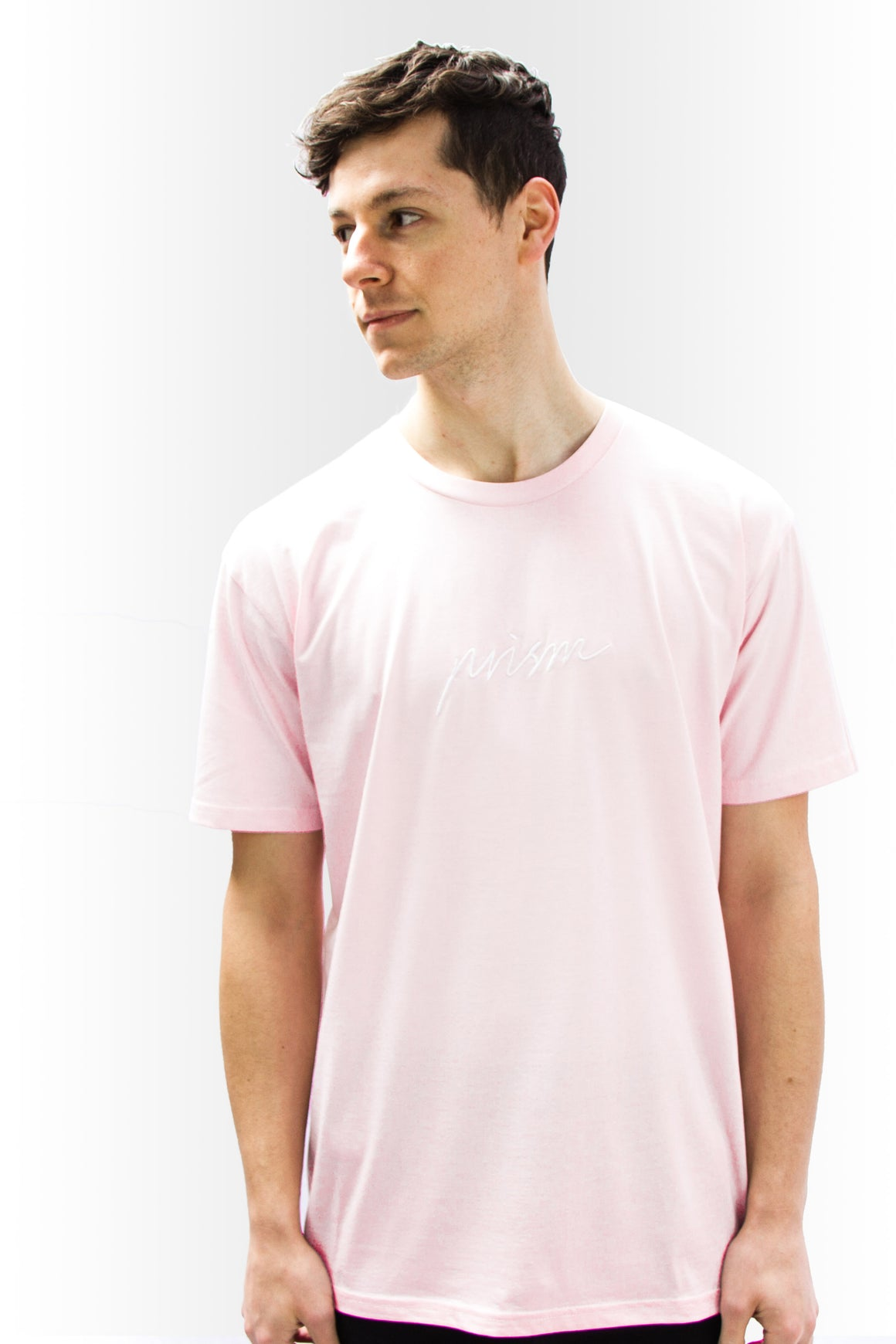 Script Tee - PINK - Prism Collective