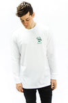 Growing Up Long Sleeve - WHITE - Prism Collective