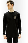 Growing Up Long Sleeve - BLACK - Prism Collective