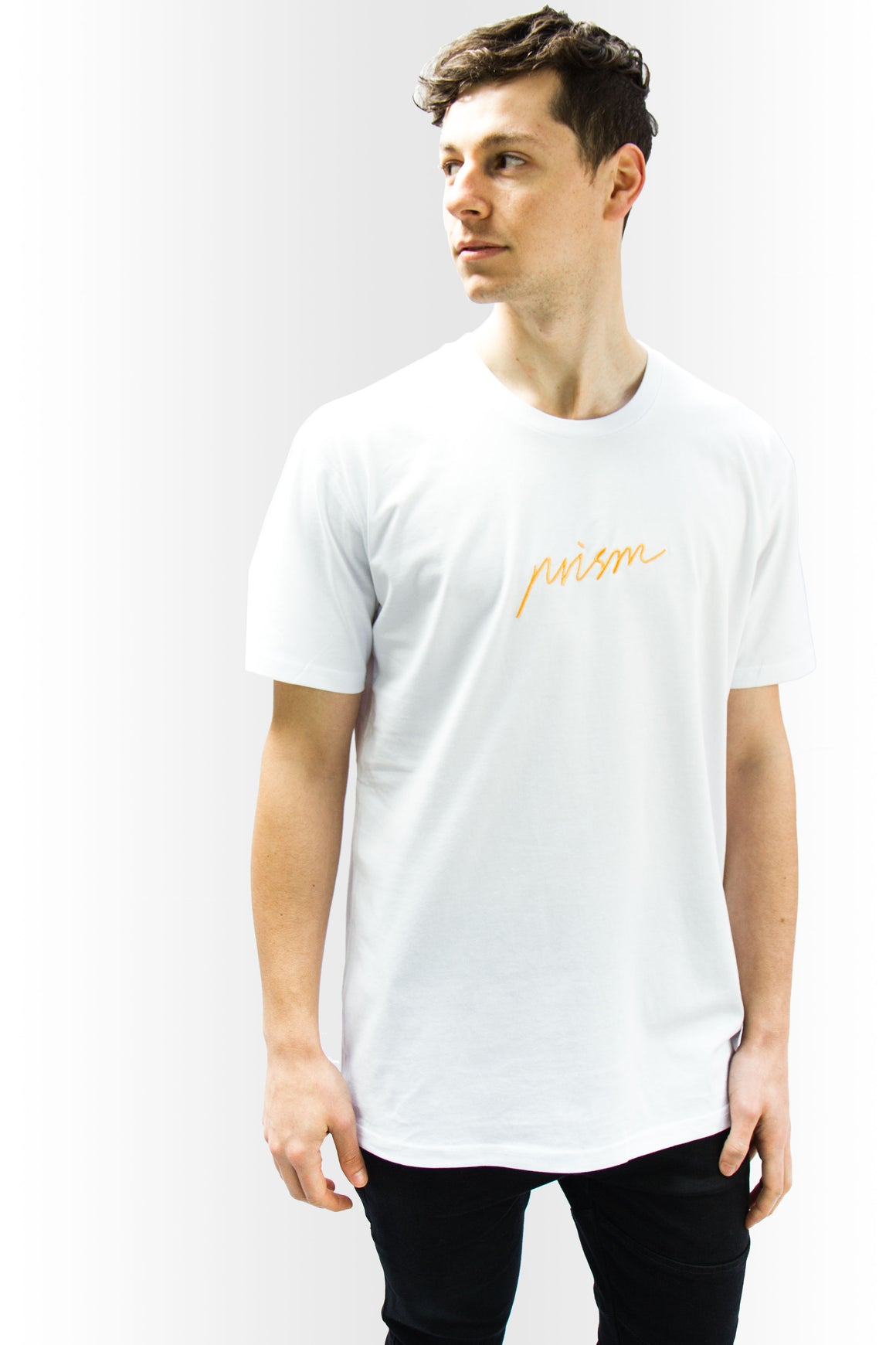 Script Tee - WHITE - Prism Collective