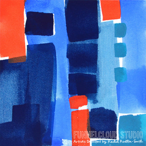 DIVE IN 01 | 8x8 original painting