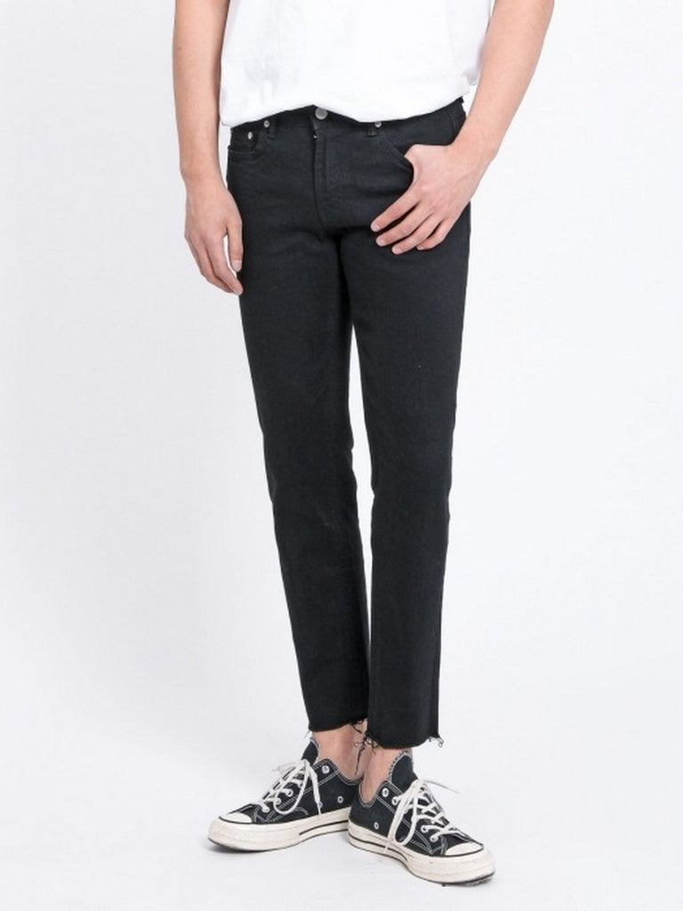 [FATALISM] #0069 Black Crop Jeans