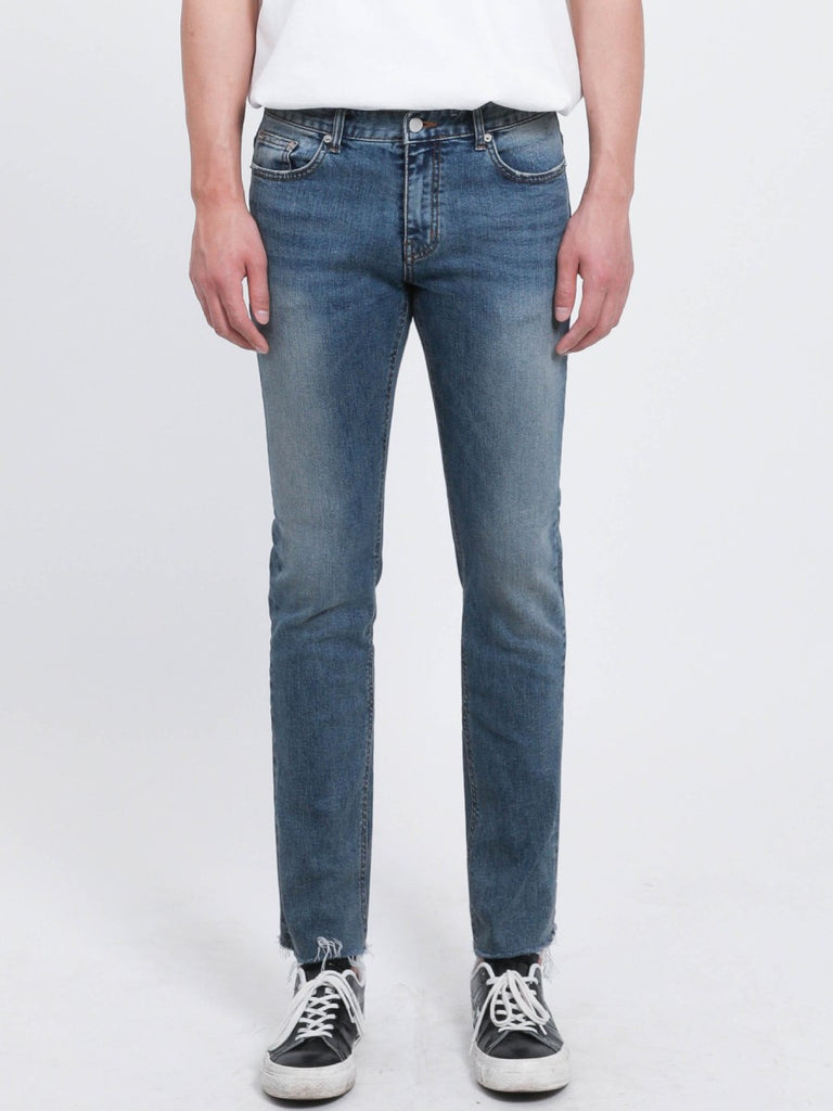 [FATALISM] #0084 Gloove Cutting Crop Jeans