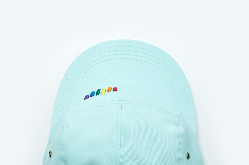 [ZANIMAL] Rainbow Flow Campcap Mint