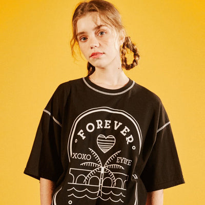 [EYEYE] FOREVERYOUNG STAMP T-SHIRTS