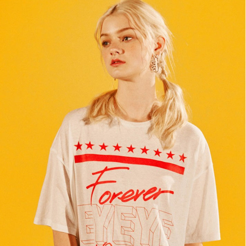 [EYEYE] FOREVERYOUNG STAR T-SHIRTS