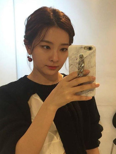 [MIDNIGHT MOMENT] [REDVELVET 슬기] marble tassel case