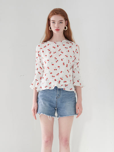 [VEM.VER] TIM POINT CHERRY BLOUSE