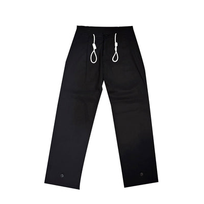 [AT THE MOMENT] Strap Long Pants (BLACK)