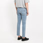 [FATALISM] #0115 Light Cutting Crop Fit Jeans