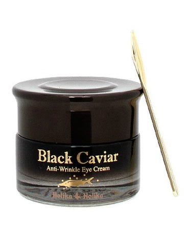 [HOLIKAHOLIKA] BLACK Caviar Anti-Wrinkle Eye Cream