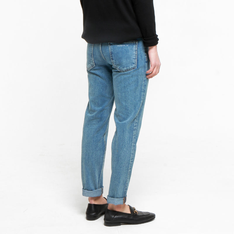 [FATALISM] #0105 80 Blue Tapered Fit Jeans