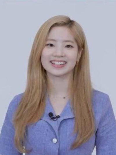 [TWICE 다현][LUV IS TRUE] RO STITCH OPS (BLUE)
