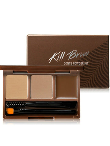 [Clio] Kill Brow Conte Powder Kit