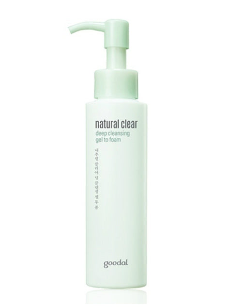 [Goodal] Natural Clear Deep Cleansing Gel Clear-To-Foam