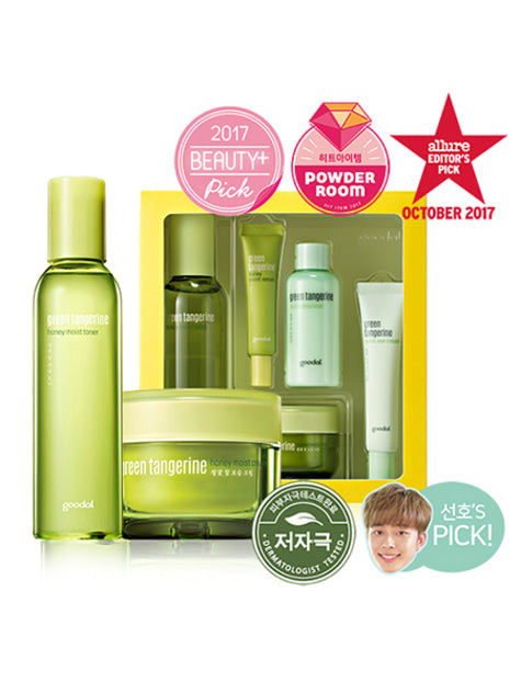 [Goodal] Green Tangerine Honey Moist Set (Cream + Toner)