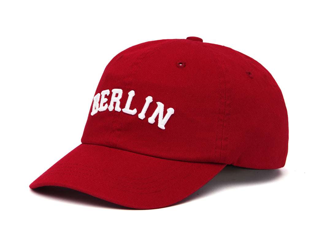 [ZANIMAL] Berlin Twill Ballcap Red