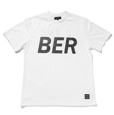 [ZANLMAL] BERLIN BIG LOGO TEE WHITE
