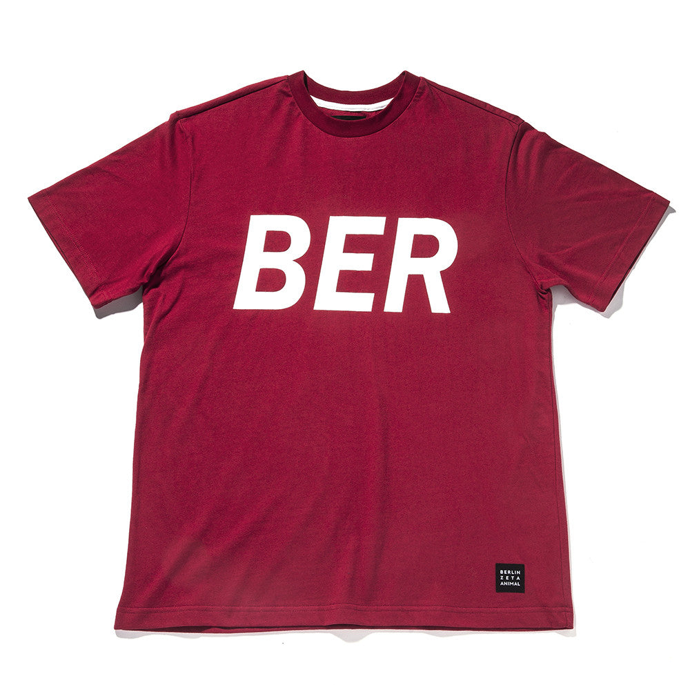 [ZANLMAL] BERLIN BIG LOGO TEE RED