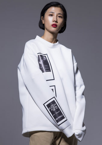 M.N.I. T-M3 White Turtle neck m to m