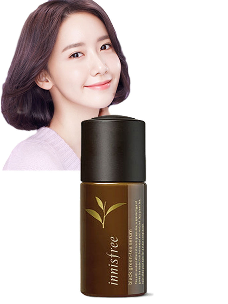 [INNISFREE] BLACK GREEN TEA SERUM 50ml