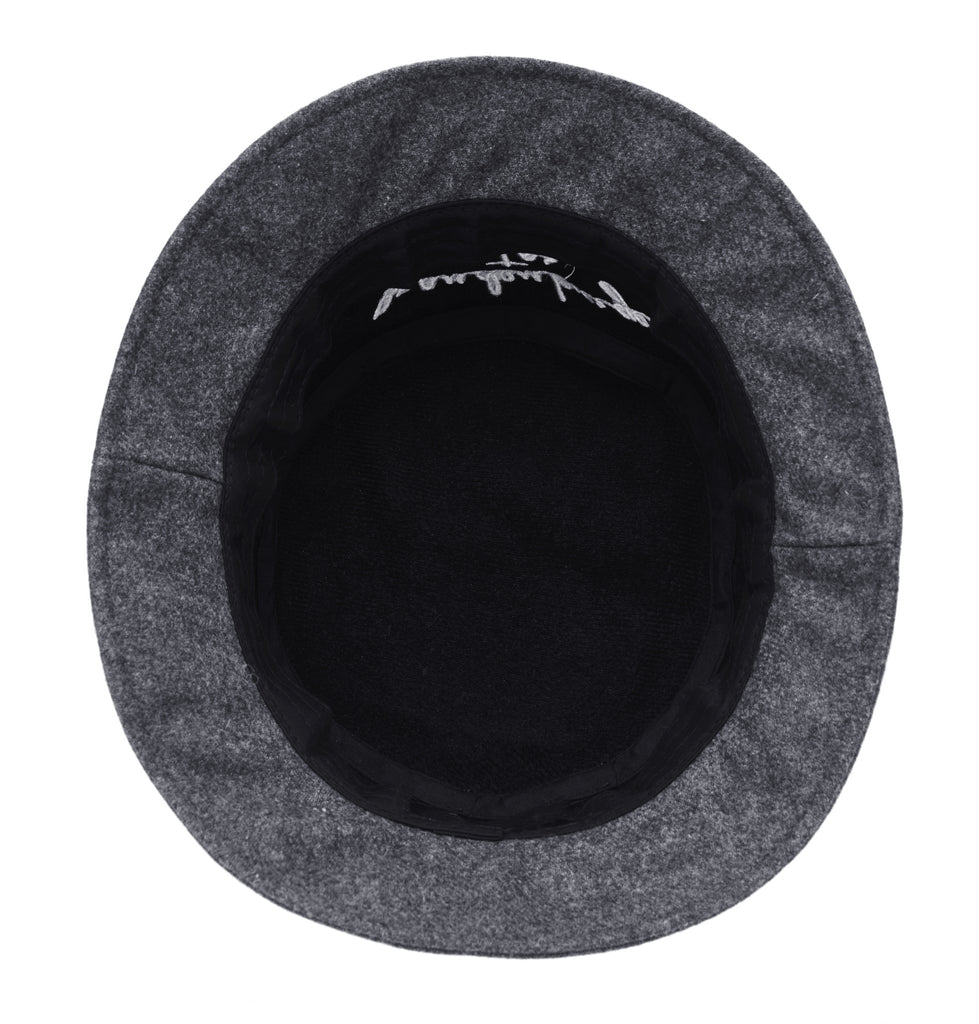 [ZANIMAL] Brandenburger Wool Buckethat Charcoal