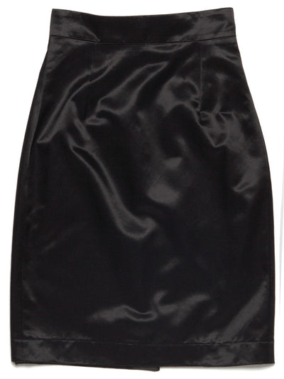 [13MONTH] HIGH VIEW MIDI SKIRT(BLACK)