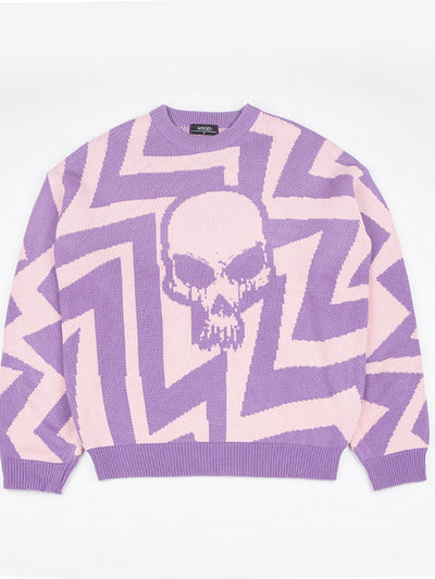 [WOOZO] Woozo Death Occurt To Zigzag Pink/purple ( 1 size )